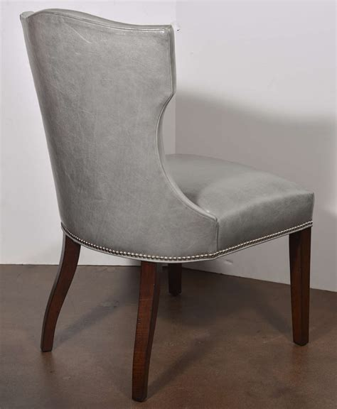 wesley leather chair at 1stdibs
