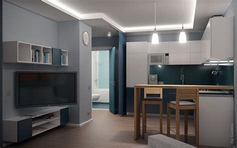 Kitchen Cabinet Inside Designs Small Flat 003 By Geckly On Deviantart
