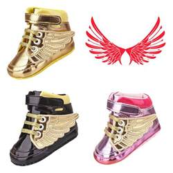 infant toddler baby boy wing crib shoes sneakers size