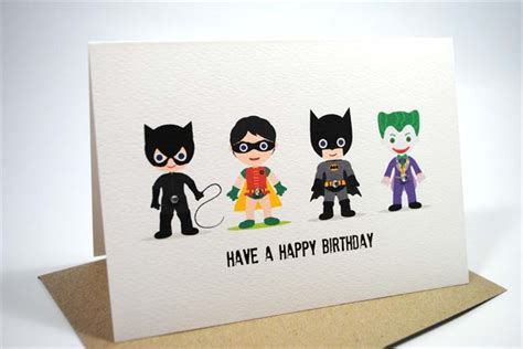 Batman Printable Birthday Card Batman Birthday Card Gangcraft Net