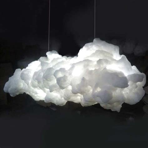 how to make a cloud light white cloud lshade contemporary ceiling light pendant
