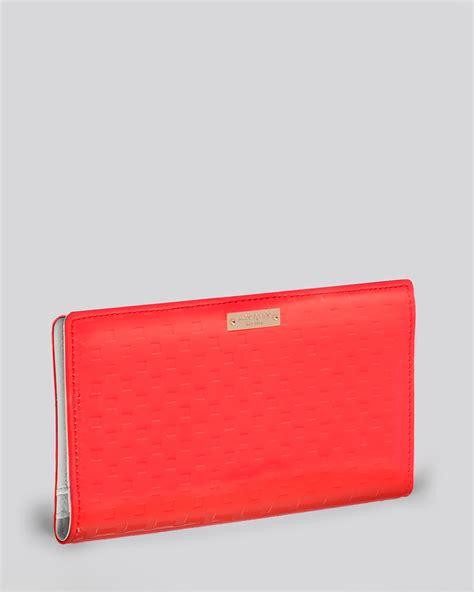Kate Spade St Wallet kate spade wallet in coral lyst