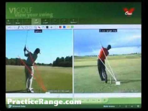 best golf swing analysis software v1 golf swing analysis software brett le brocque youtube