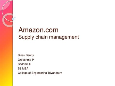 Do You Need An Mba For Supply Chain Management by 082
