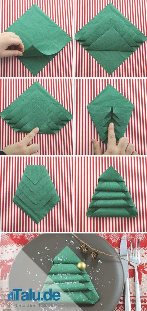 serviette tannenbaum falten die besten 17 ideen zu servietten falten tannenbaum auf
