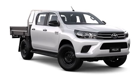 most comfortable ute new hilux 4x4 sr double cab cab chassis in stock at