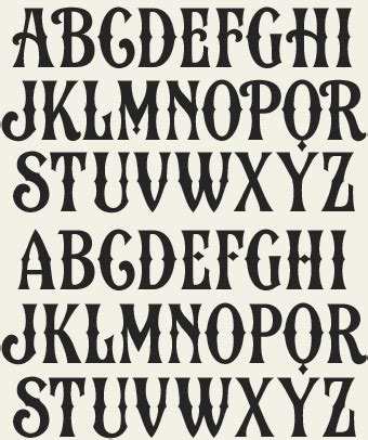 printable vintage fonts fun printable alphabet letters extras templates