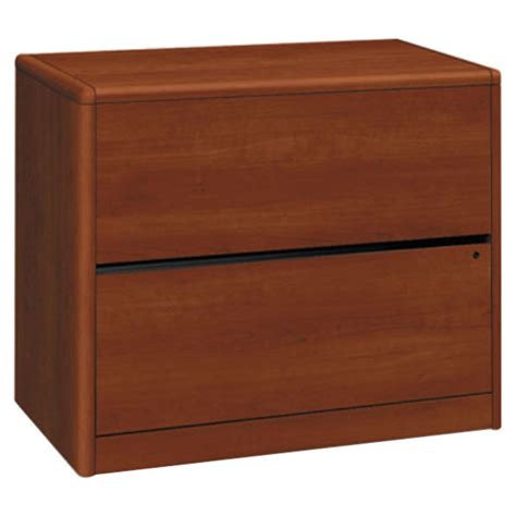 Hon 2 Drawer Filing Cabinet by Hon 10762co 10700 Series Cognac Two Drawer Lateral Filing