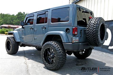 Jeep Tire Size Jeep Wrangler Unlimited Custom Wheels Fuel Renegade 22x