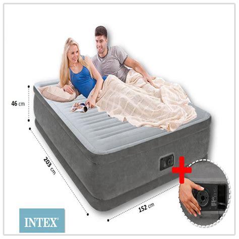 materasso gonfiabile intex prezzi materasso letto gonfiabile intex airbed comfort plush q