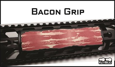 Ar15 M4 Grip Pvc Custom Ar15 M4 Custom Grip Pvc Keymod Rail Cover Bacon