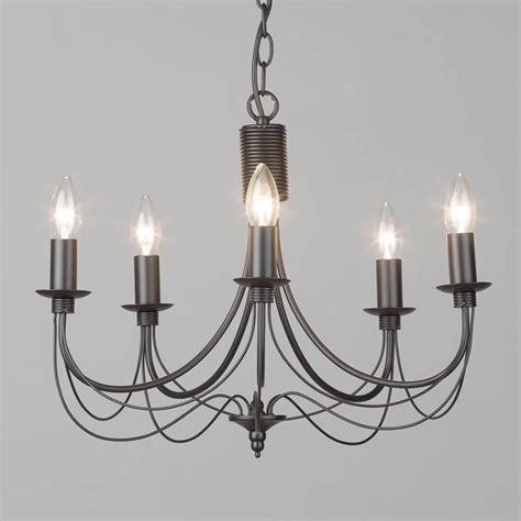 bedroom chandelier size black chandelier somerset candle 5 light from litecraft