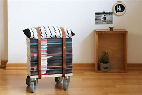 Hocker Selber Bauen by Upcycling Diy Wie Einen Zeitschriften Hocker Selbst