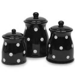 black kitchen canister sets amazon com terramoto ceramic polka dots canister set