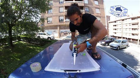 claraboya furgon tutorial de instalaci 243 n de placa solar para furgonetas