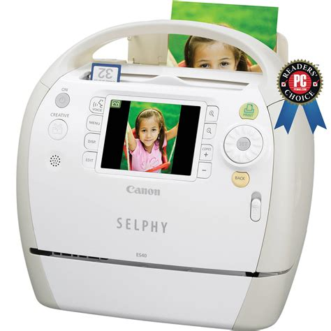 Printer Canon Selphy canon selphy es40 compact photo printer 3647b001 b h photo