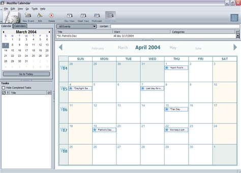 Calendario Wiki How Mozilla Calendar
