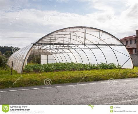 country side green house greenhouse detail stock photo image 39795596