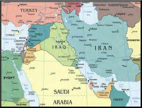east map with cities washington and israel want the middle east map redrawn