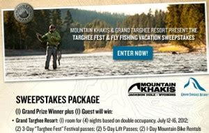 Fly Fishing Sweepstakes - targhee fest fly fishing sweepstakes