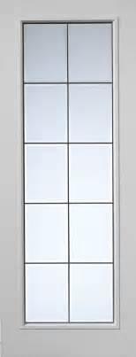White Glass Door Decima Decca Textured White Primed Door