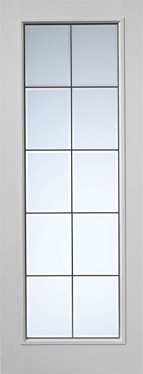 White Glass Interior Doors Decima Decca Textured White Primed Door