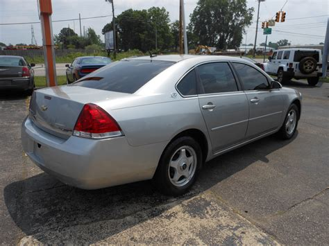 2008 Chevy Impala Ls by 2008 Chevy Impala Ls Silver 7 Denam Auto Trailer Sales