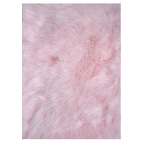 pink throw rug la rug flokati light pink 2 ft 7 in x 3 ft 11 in accent rug flk 010 3147 the home depot