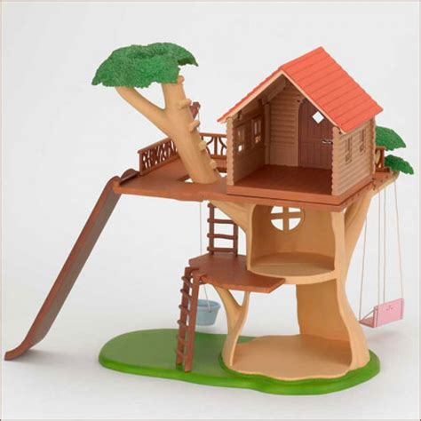 calico critters tree house sylvanian families calico critters tree house ko 53 from japan ebay