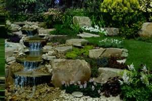 Rock Garden Waterfall Beautiful Rock Garden Waterfall