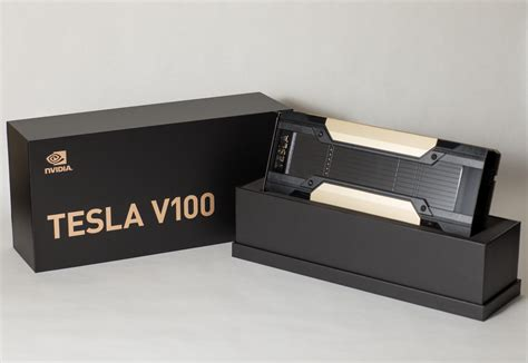 Nividia Tesla Nvidia Ceo Gives Away Volta Tesla V100 To Top Ai Researchers