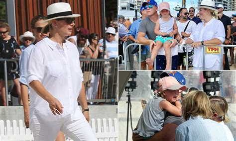 zara  mike tindall attend racing event  gold coast daily mail