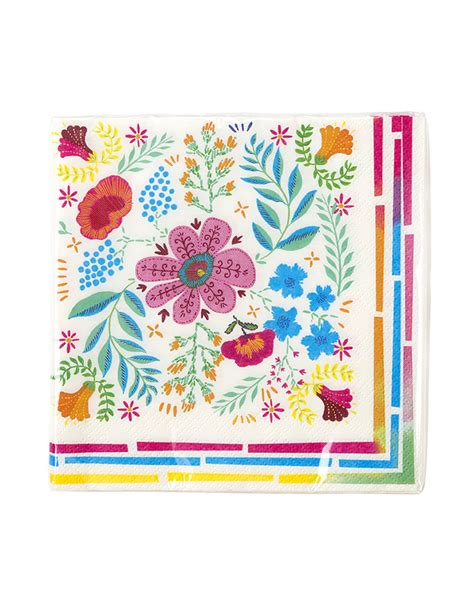 fiori di carta con tovaglioli 20 tovaglioli di carta con fiori gipsy su vegaooparty