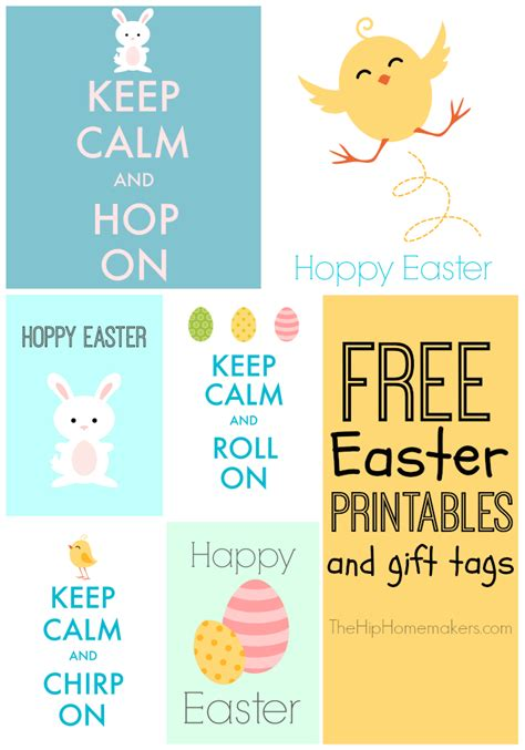 printable easter themed name tags keep calm free easter printables