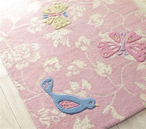 adrianna rug pottery barn kids birdy rug pink rug