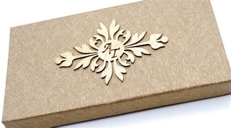 Kerala Home Design Box Type by Christian Indian Designer Wedding Invitation Cards In