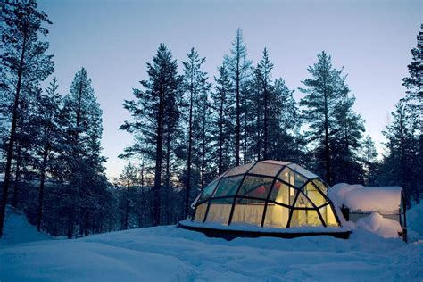 Sparse Lights by Luxury And Fine Living Glass Igloo Hotel Kakslauttanen