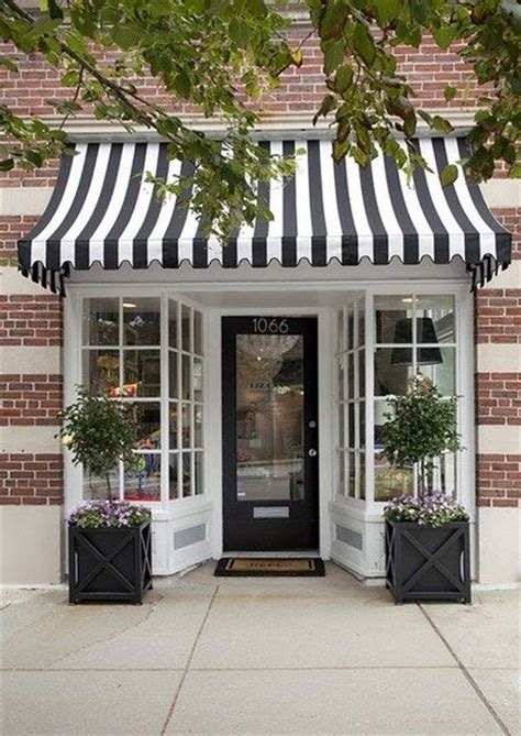 front door store inviting boutique storefront adorable black and white