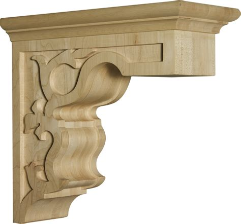 Ornate Wooden Corbels Coastal Corbel