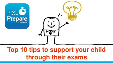10 Top Tips On Getting Ready For Exams by Top Ten Tips To Support Your Child Through Their Exams