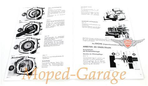 Sachs Motor Reparatur by Moped Garage Net Hercules Ktm Dkw Sachs 504 Motor