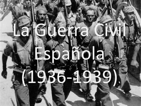 la guerra civil espanola 8420687030 la guerra civil espa 241 ola
