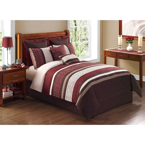comforter sets at kmart madison classics vivian taupe queen 7pcs comforter set