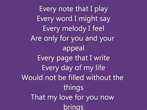 Is For You by Kenny Lattimore For You W Lyrics