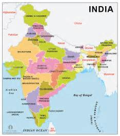 India Map States by Pics Photos Country Map Of India
