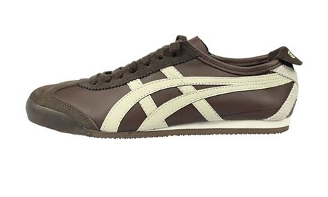 Po Limited Onitsuka Tiger Mexico 66 Leather Gold Gold onitsuka tiger mexico 66 shoes groupon