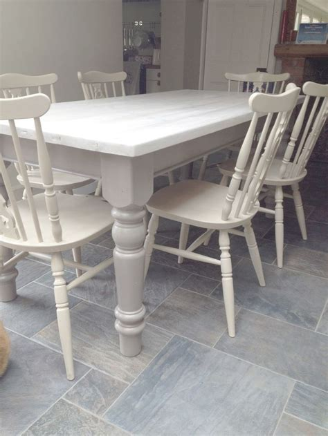 white distressed table and chairs best 25 dining table legs ideas on