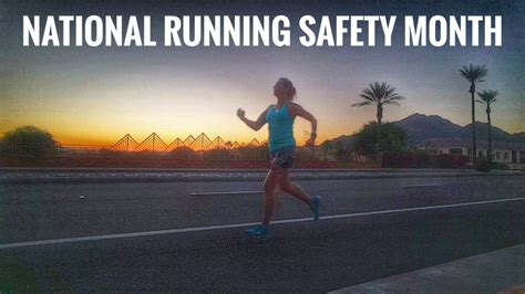 9 tips for running safely running safety tips and tools