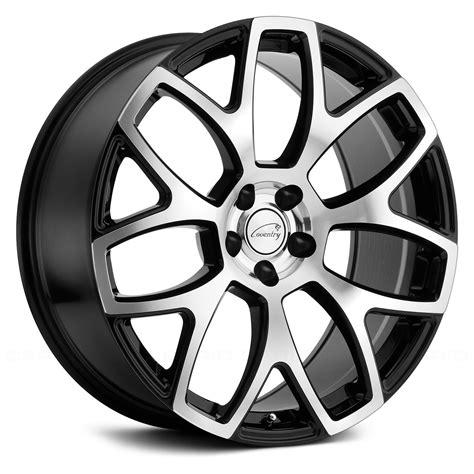 Coventry Black coventry 174 ashford wheels gloss black with mirror cut