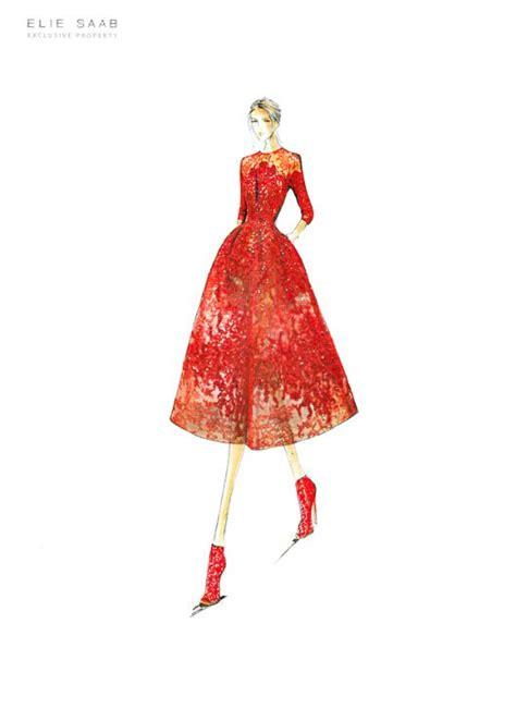 Yuyu Ruffle Dress 17 best images about fashion illustration on